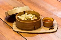 Steamed dumpling basket.