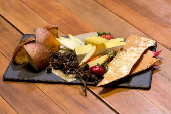 Tasmanian cheese board.