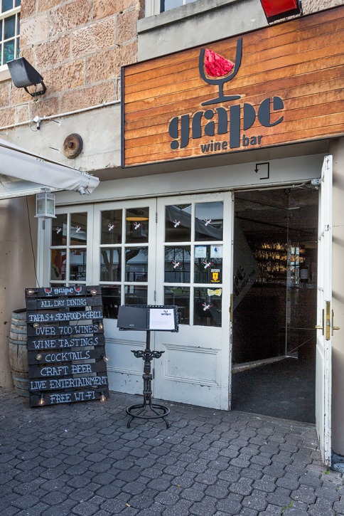 Welcome to Grape, situated on the famous Salamanca Place.
